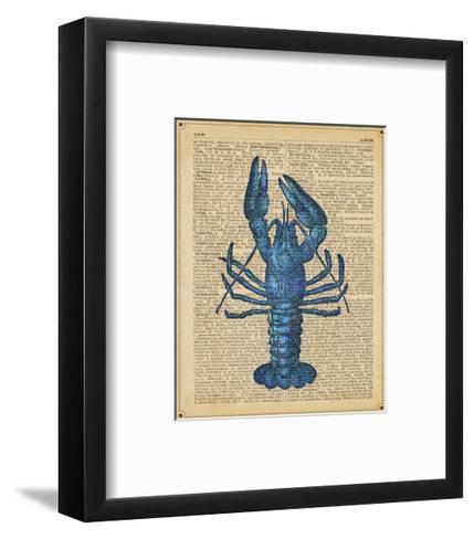 Vintage Lobster-Sparx Studio-Framed Art Print