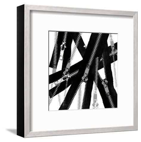 Unzipped-Erin Clark-Framed Art Print