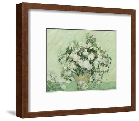 Vase with Pink Roses, 1890-Vincent van Gogh-Framed Art Print
