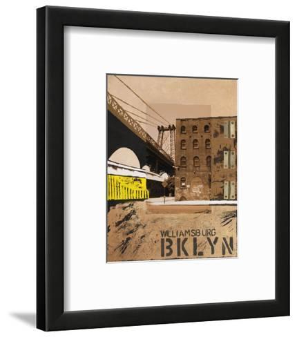 Williamsburg, Brooklyn-Mauro Baiocco-Framed Art Print
