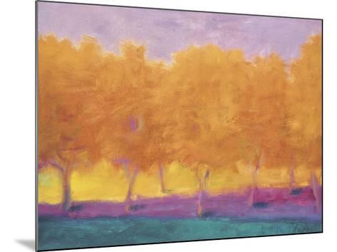 Yellow Trees-Wolf Kahn-Mounted Giclee Print