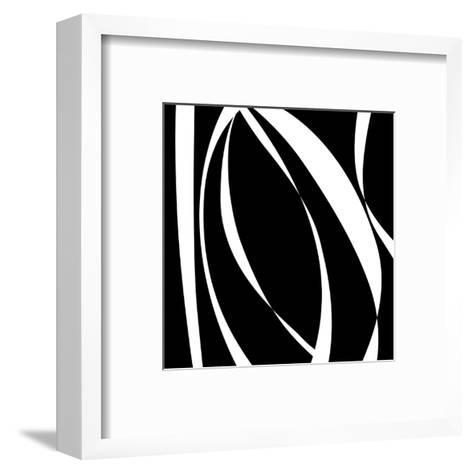 Fistral Nero Blanco I-Denise Duplock-Framed Art Print