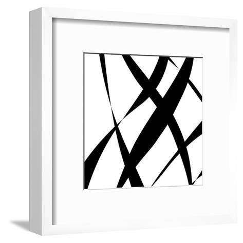 Fistral Nero Blanco II-Denise Duplock-Framed Art Print