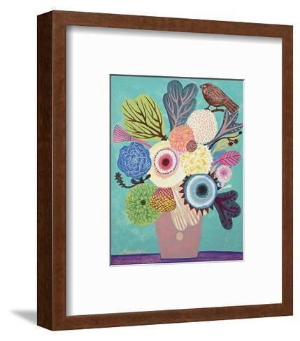 Flowers n. 10-Mercedes Lagunas-Framed Art Print