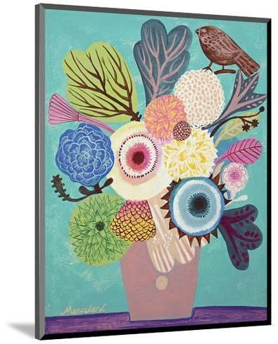 Flowers n. 10-Mercedes Lagunas-Mounted Art Print