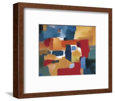Fields of Music-Nancy Ortenstone-Framed Art Print