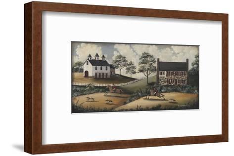 Fox Hunt-Barbara Jeffords-Framed Art Print