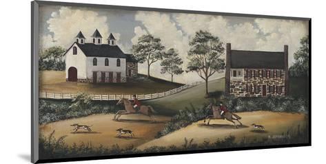 Fox Hunt-Barbara Jeffords-Mounted Art Print
