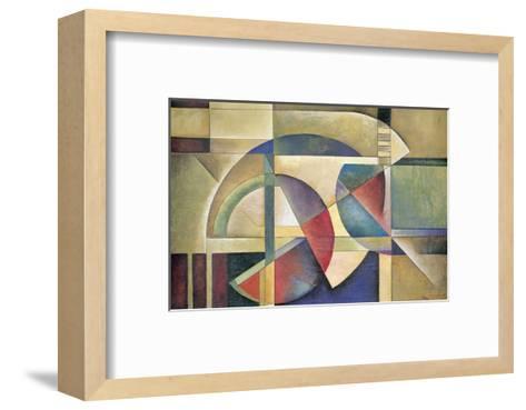 Folded Sphere-Marlene Healey-Framed Art Print