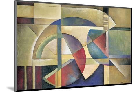 Folded Sphere-Marlene Healey-Mounted Art Print