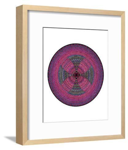 Fertile Red-Lawrence Chvotzkin-Framed Art Print