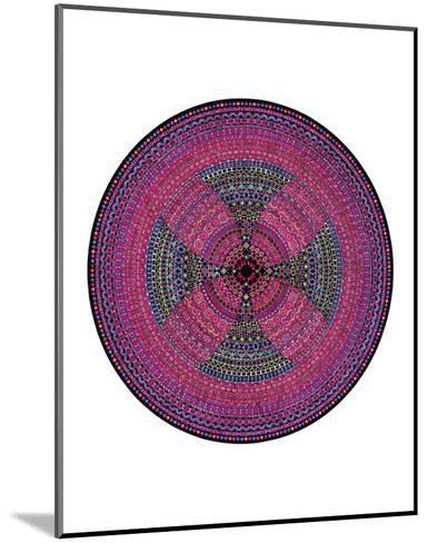 Fertile Red-Lawrence Chvotzkin-Mounted Art Print