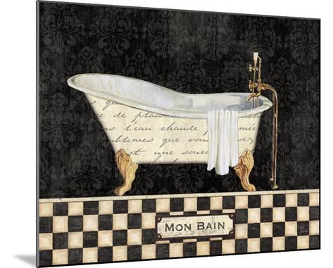 French Bathtub I-NBL Studio-Mounted Art Print