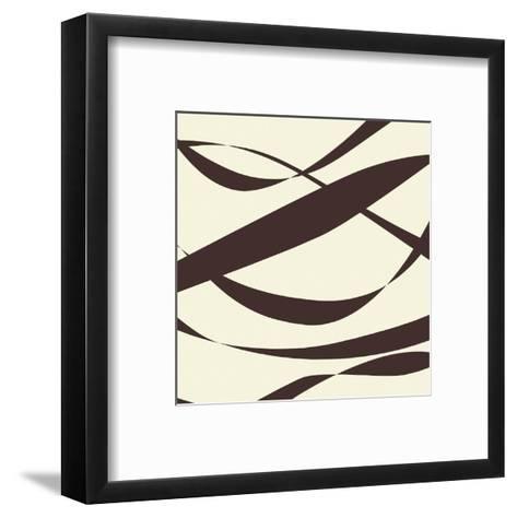 Fistral (praline)-Denise Duplock-Framed Art Print