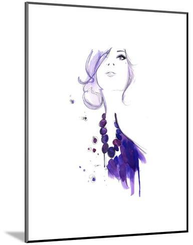 Floating Beads-Jessica Durrant-Mounted Art Print