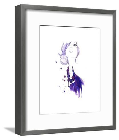 Floating Beads-Jessica Durrant-Framed Art Print