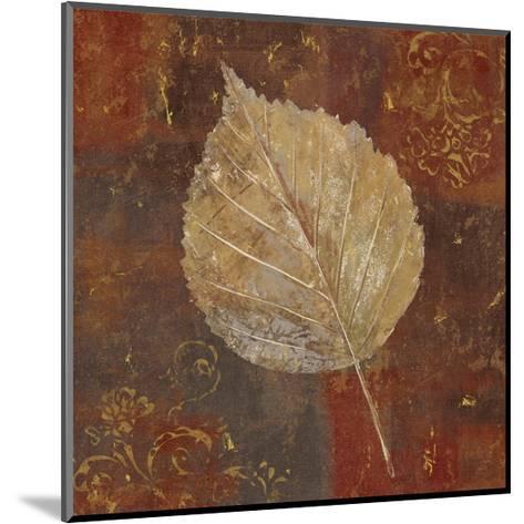 Golden Fall I-Daphn? B-Mounted Art Print