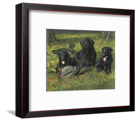 Getting Familiar-Kevin Daniel-Framed Art Print