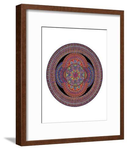 Glowing Blossom-Lawrence Chvotzkin-Framed Art Print