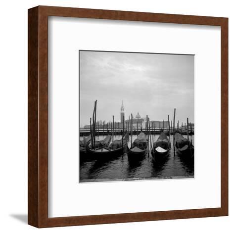 Gondolas-Tom Artin-Framed Art Print