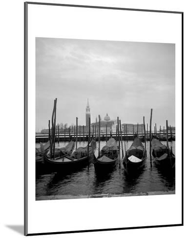 Gondolas-Tom Artin-Mounted Art Print