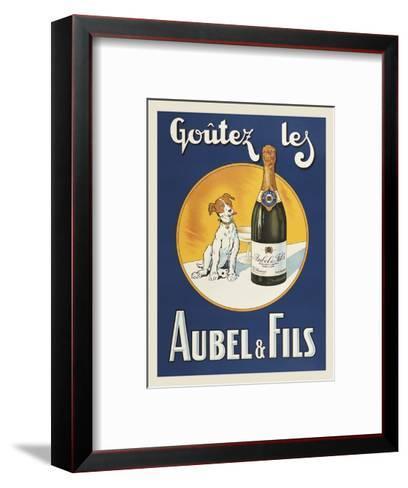 Goutez les Aubel & Fils-Vintage Posters-Framed Art Print