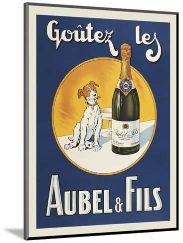 Goutez les Aubel & Fils-Vintage Posters-Mounted Art Print