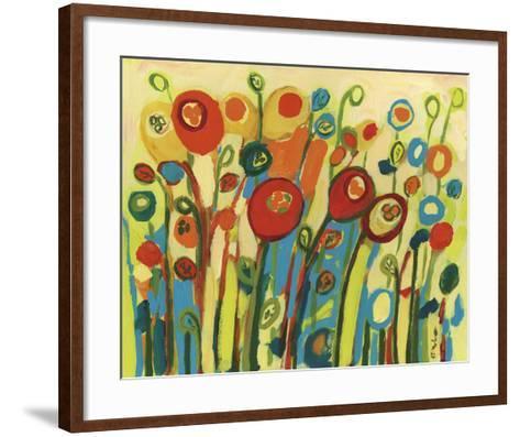 Growing Poppies-Jennifer Lommers-Framed Art Print