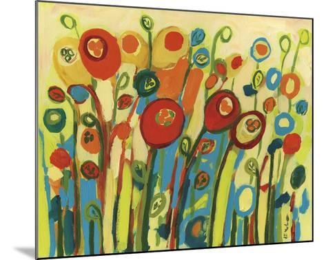 Growing Poppies-Jennifer Lommers-Mounted Art Print