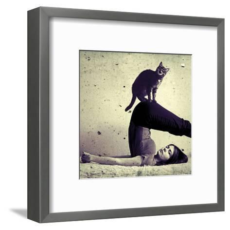 Halasana-Gosia Janik-Framed Art Print