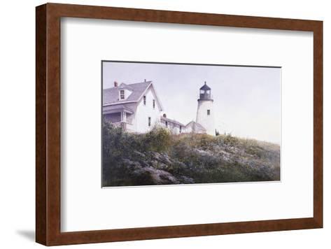 Gulls at Pemaquid-Ray Hendershot-Framed Art Print