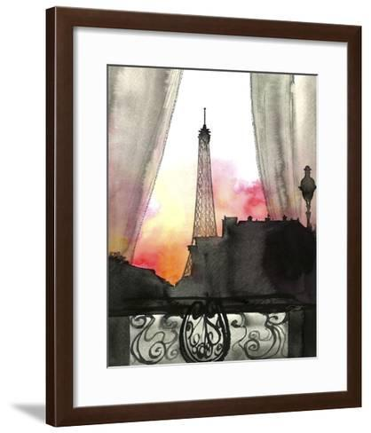 Here?s Looking at You Paris-Jessica Durrant-Framed Art Print