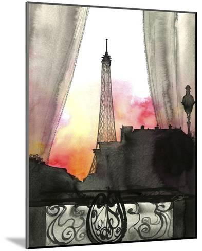 Here?s Looking at You Paris-Jessica Durrant-Mounted Giclee Print