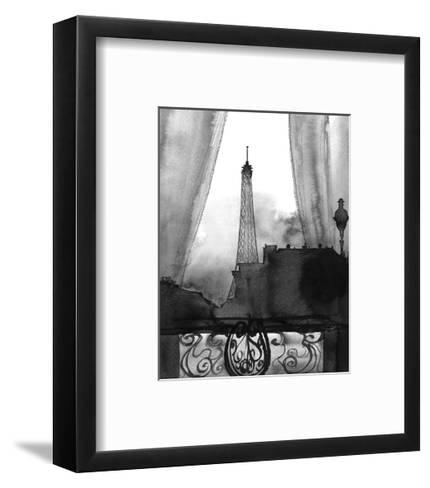 Here?s Looking at You Paris (B/W)-Jessica Durrant-Framed Art Print