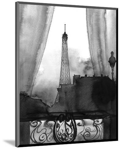 Here?s Looking at You Paris (B/W)-Jessica Durrant-Mounted Art Print