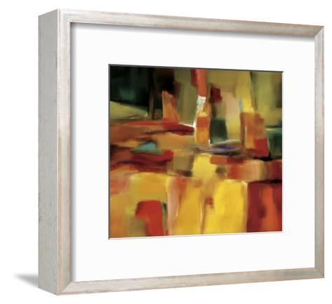 Harmonious Space-Nancy Ortenstone-Framed Art Print
