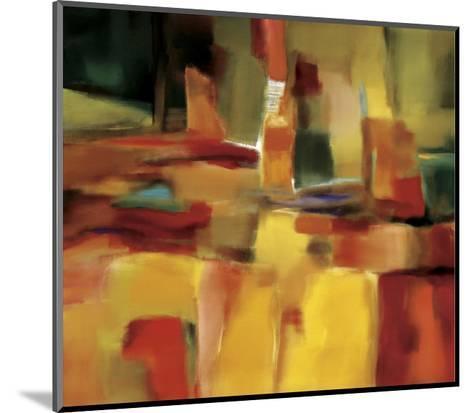 Harmonious Space-Nancy Ortenstone-Mounted Art Print