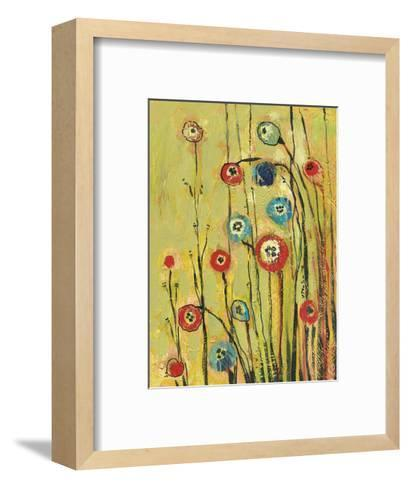Hidden Poppies-Jennifer Lommers-Framed Art Print