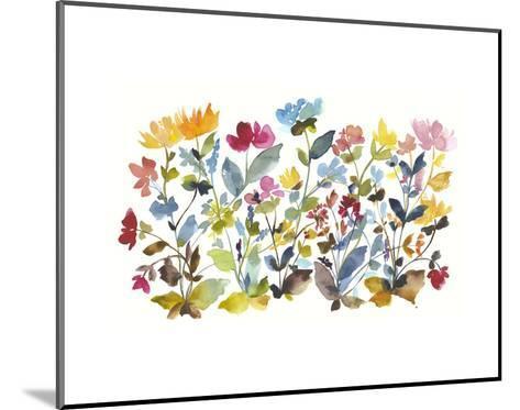 High Country Wildflowers N. 2-Kiana Mosley-Mounted Art Print