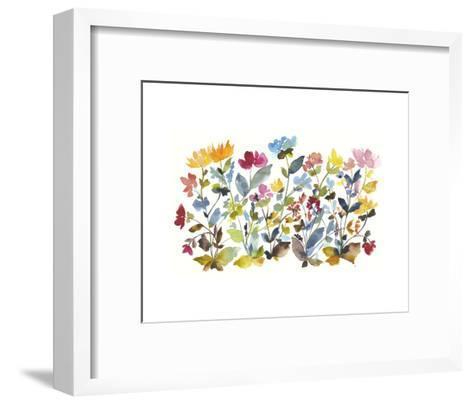 High Country Wildflowers N. 2-Kiana Mosley-Framed Art Print