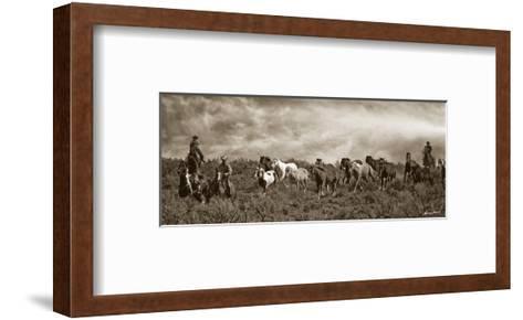 Homeward Bound-Barry Hart-Framed Art Print