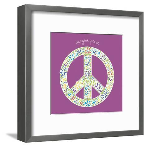 Imagine Peace-Erin Clark-Framed Art Print