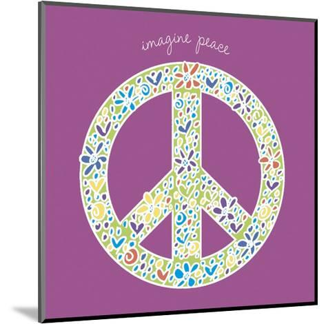 Imagine Peace-Erin Clark-Mounted Art Print
