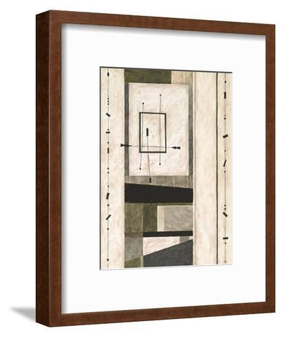 In a While Crocodile-Dominique Gaudin-Framed Art Print