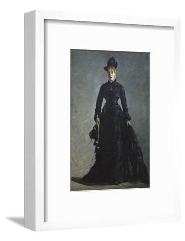 La Parisienne, c. 1876-Edouard Manet-Framed Art Print