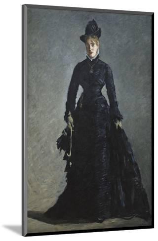 La Parisienne, c. 1876-Edouard Manet-Mounted Art Print