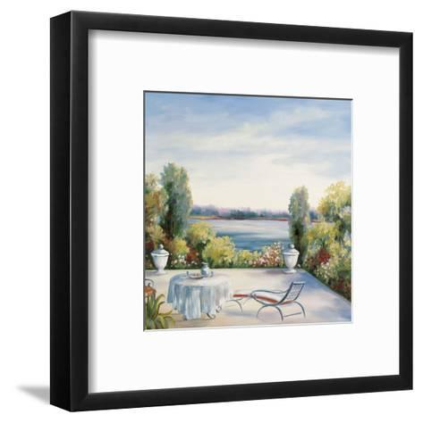 Lakefront View-David Weiss-Framed Art Print