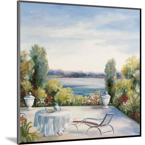 Lakefront View-David Weiss-Mounted Art Print
