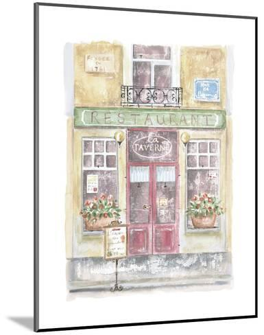 La Taverne-Jane Claire-Mounted Art Print