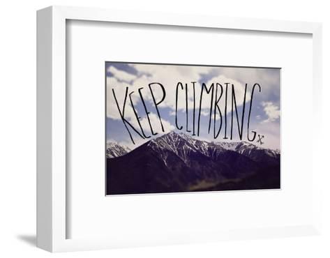 Keep Climbing-Leah Flores-Framed Art Print